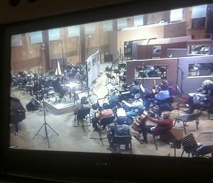 Mosfilm orchestra recording 2
